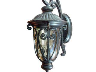 Hailee 3 light Exterior lighting in Oil Rubbed Bronze