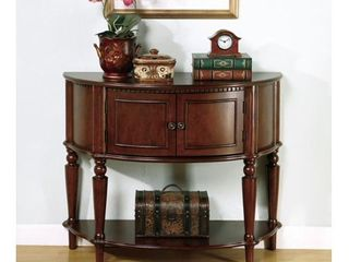 Coaster Storage Entry Way Console Table Hall Table  Brown Finish