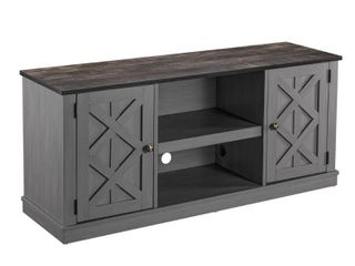 FESTIVAl NEO CORP 54 in  Gray TV Stand for TVs Upto 65 in