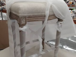 1 Vintage French Restoration Counter Stool  Retail 235 99