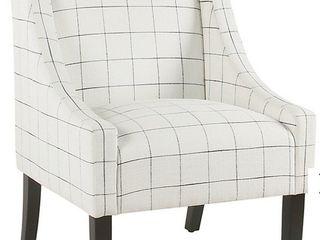 1 HomePop Modern Swoop Arm Accent Chair K6908 F2327