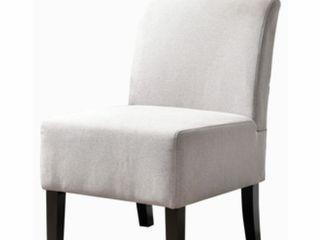 Samantha Gray Fabric Accent Chair  light Gray  Item  samantha gray c