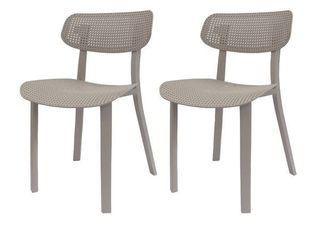 Set of Two Toppy Speck Dinning Chairs