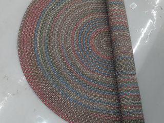 Rhody Rug Katie Indoor  Outdoor Braided Rug  Multicolor   5  x 8