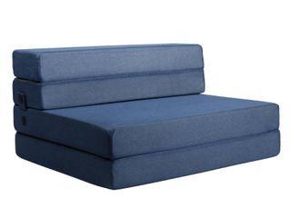 Milliard Tri Fold Foam Folding Mattress and Sofa Bed for Guests or Floor Mat   Twin Xl 78x38x4 5 Inch