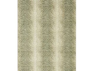 Mohawk Home Prismatic Faux Antelope Skin Rug  Beig Green  2X3 Ft