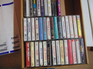 40  Assorted Tapes