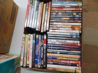 60  Assorted DVD s