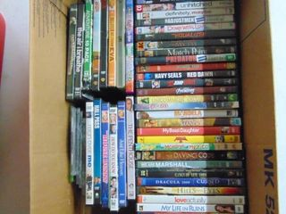 46  Assorted DVD