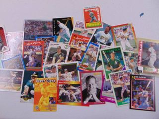 Mark McGwire Baseball card lot of 30