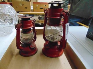 Pair of Small Kerosene lamps
