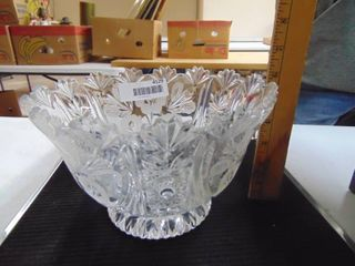 8  lead Crystal Bowl