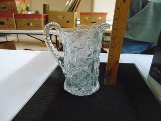 Cut Glass Pitcher Slight flaw