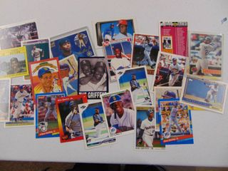 Ken Griffey Jr  Basebalol Card lot of 25