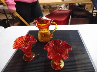 Pair of Vases and Pitcher