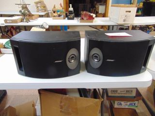 Pair of Bose Speakers