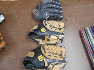 3 Wilson Ball Gloves