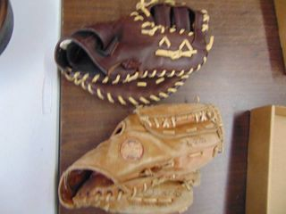 Mizuno and Spalding Ball Gloves