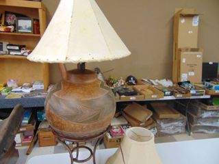 Casual lamps lamp with 2 shades