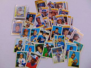 Quaker Chewy  Topps All Stars  K Mart Baseball card lot with Brett  Ryan  and more stars