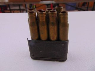 Stripper Clip with Blank Rounds