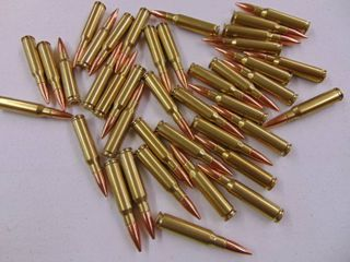 40 Rounds 7 62x51 Nato  308 Winchester  lake City Cases   1st Reload 45 grns win 748