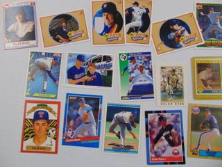 Nolan Ryan Baseball card lot of 25