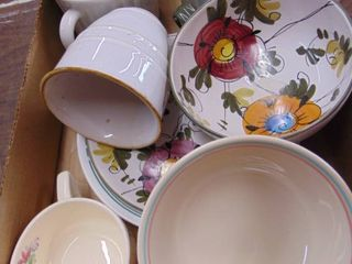 Miscellaneous china pieces