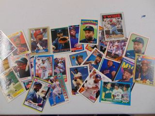 Kirby Puckett Baseball Cards lot of 26
