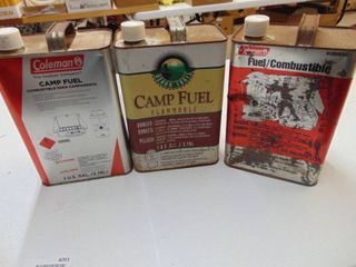3 Gallons of Coleman Camp Fuel