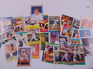 Jose Canseco baseball card lot of 26