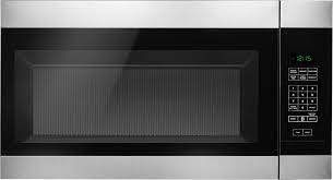1 6 cu  ft  Over the Range Microwave in Stainless Steel Retail price  179 99