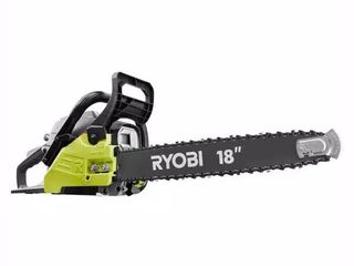 RYOBI 18 in  38cc 2 Cycle Gas Chainsaw with Heavy Duty Case   missing Ryobi OEM Safety Tip  chain saw tune up kit and the fuel line kit