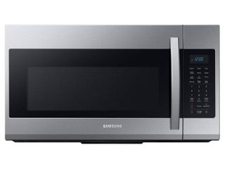 Samsung   1 9 Cu  Ft  Over the Range Fingerprint Resistant Microwave with Sensor Cooking Stainless Steel   Fingerprint Resistant Stainless Steel  RETAIl PRICE 350