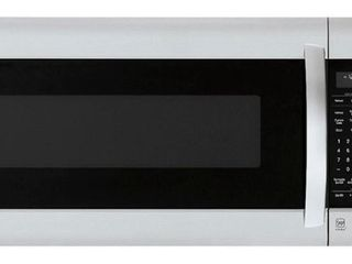 lG   2 0 Cu  Ft  Over the Range Microwave with Sensor Cooking   PrintProof Stainless Steel RETAIl PRICE 350