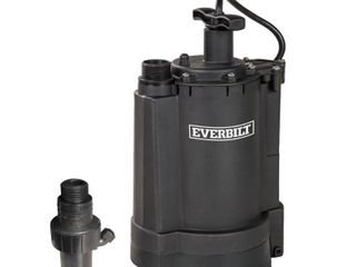 Everbilt 1 3 HP Automatic Utility Pump