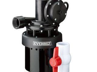 Everbilt 1 3 HP Utility Sink Pump