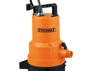 Everbilt 1 4 HP 2 in 1 Utility Pump  RETAIl PRICE 119 00    MISSING Trasfer pump equipment