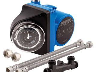 Watts 500800 Premier Hot Water Recirculation Pump  Blue  PUMP ONlY RETAIl PRICE 196 00