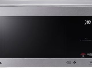 lG 0 9 cu ft Countertop Microwave Smart Inverter Stainless   lMC0975ST  RETAIl PRICE 139 99  HAS 2 lITTlE DAMAGES BUT WORKS GREAT