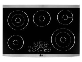 lG   STUDIO 30  Built In Electric Cooktop with Hot Surface Indicator and Warming Zone   Stainless steel RETAIl PRICE  1 099 99