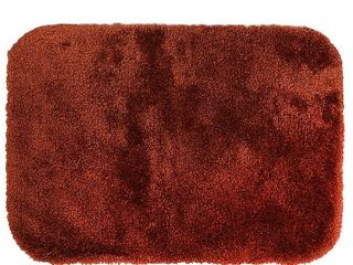 Wamsutta Ultra Soft 100  Microlon Nylon 21  X 34  Bath Rug In Garnet