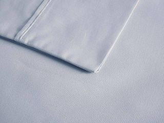 California King 600 Thread Count Cooling Cotton Sheet Set Blue