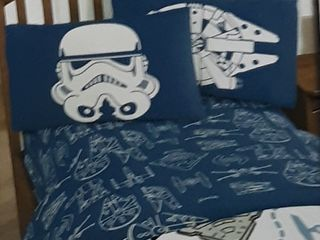 Disney Star Wars Twin Sheet Set For Kids Bedding Microfiber 3 Piece