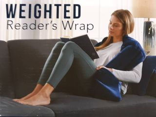 Therapedic Weighted Reader Wrap   Navy