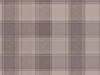 Arthouse Urban Check Fabric Strippable Wallpaper  Covers 57 sq  ft  Brown