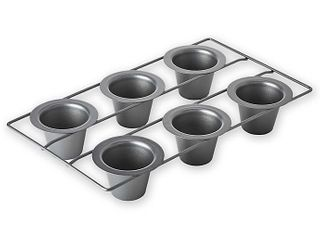 Professional Nonstick 6 cup Popover Pan With Armor glide Coating