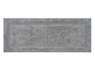 Wamsutta pinnacle 24  x 60  Bath Runner in silver