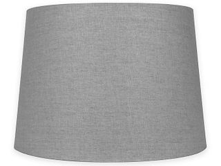 Medium 14 Inch lamp Shade in Grey
