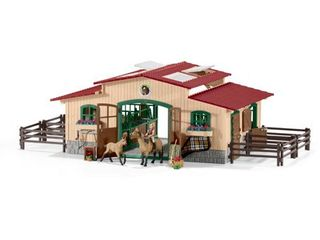 Schleich  Stable with Horses   Accessories  42195